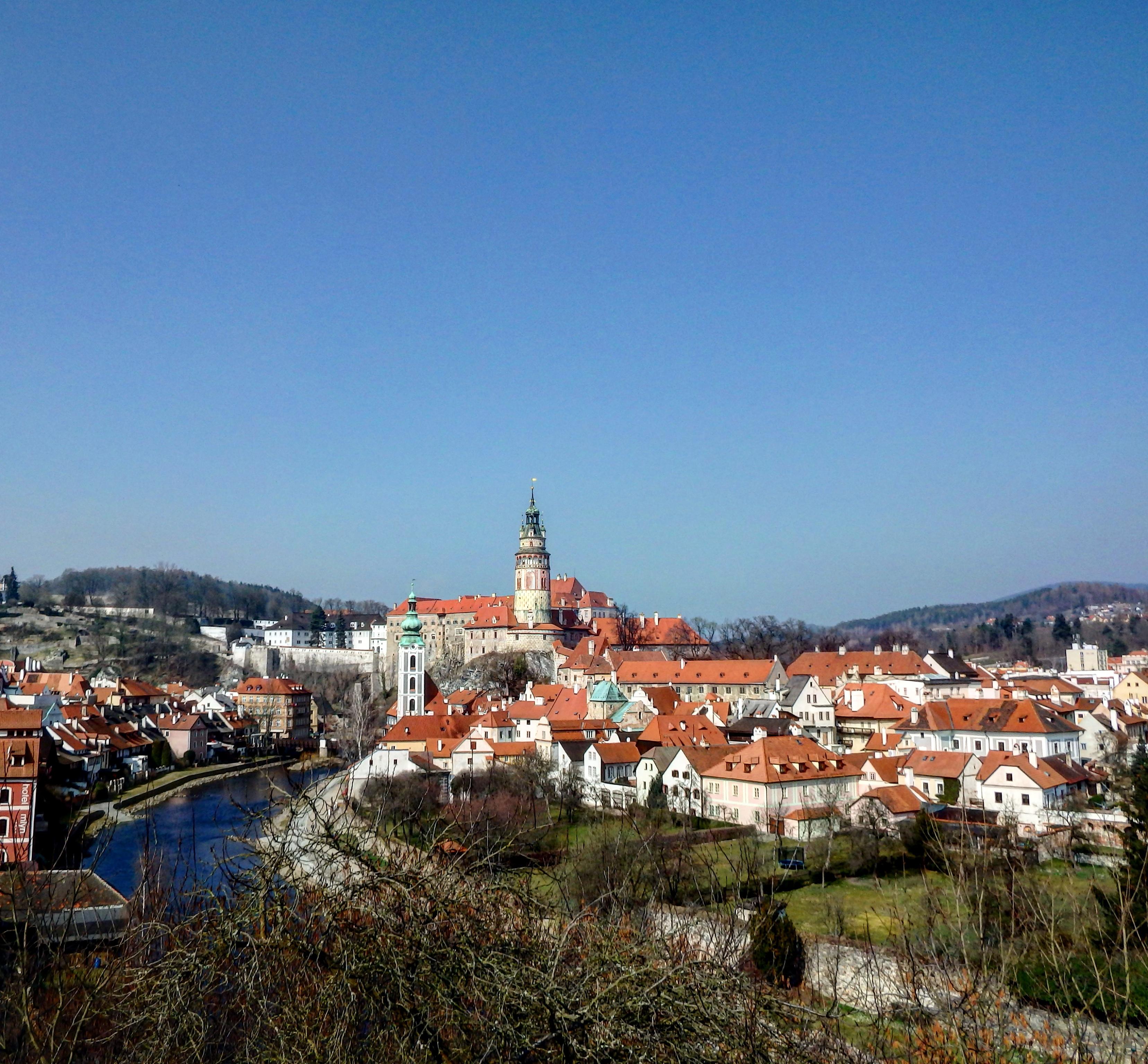 世界一美しい町!?チェコのチェスキークルムロフの路地