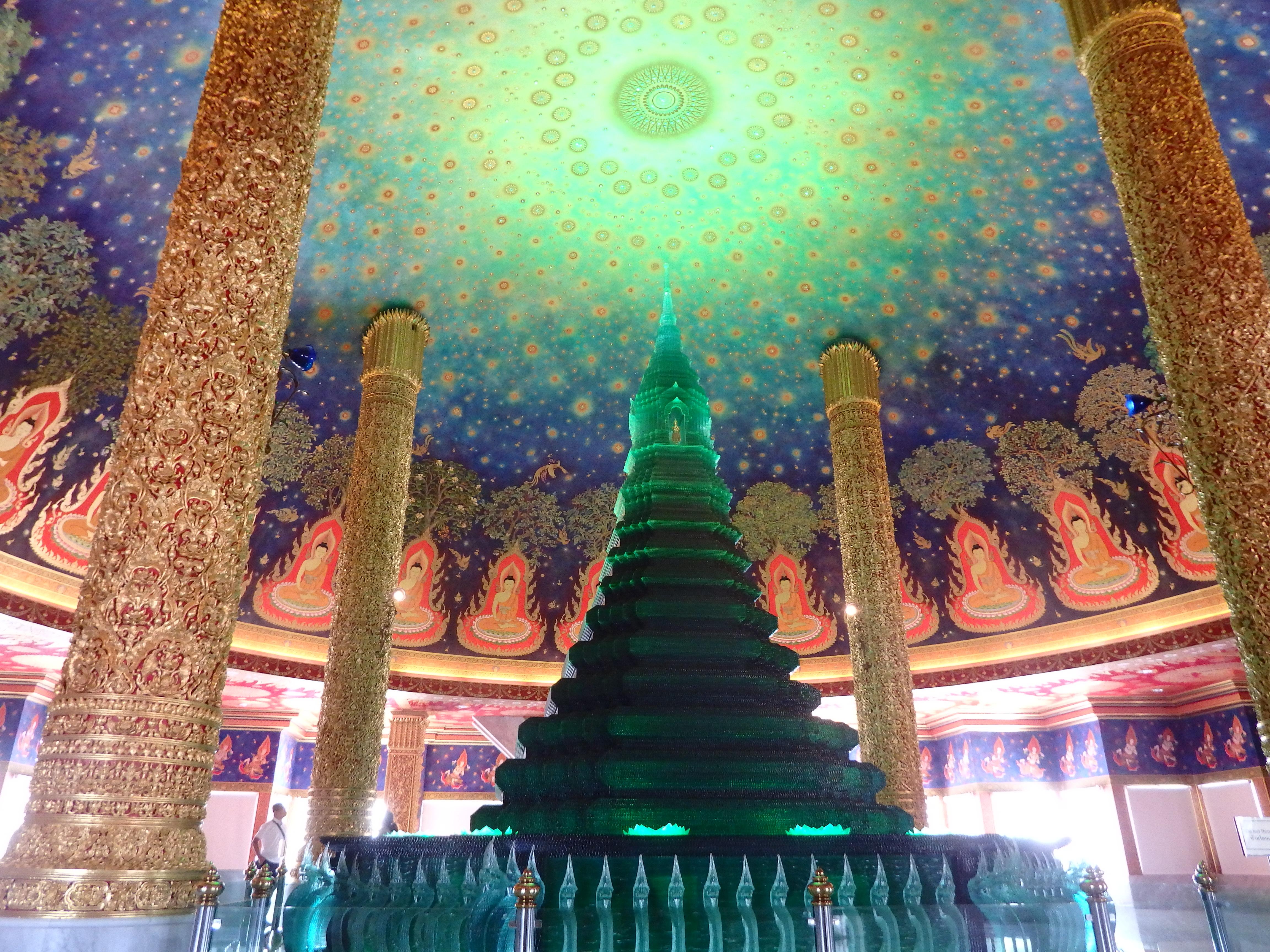 バンコクの絶景寺院ワットパクナムへの行き方(写真あり)