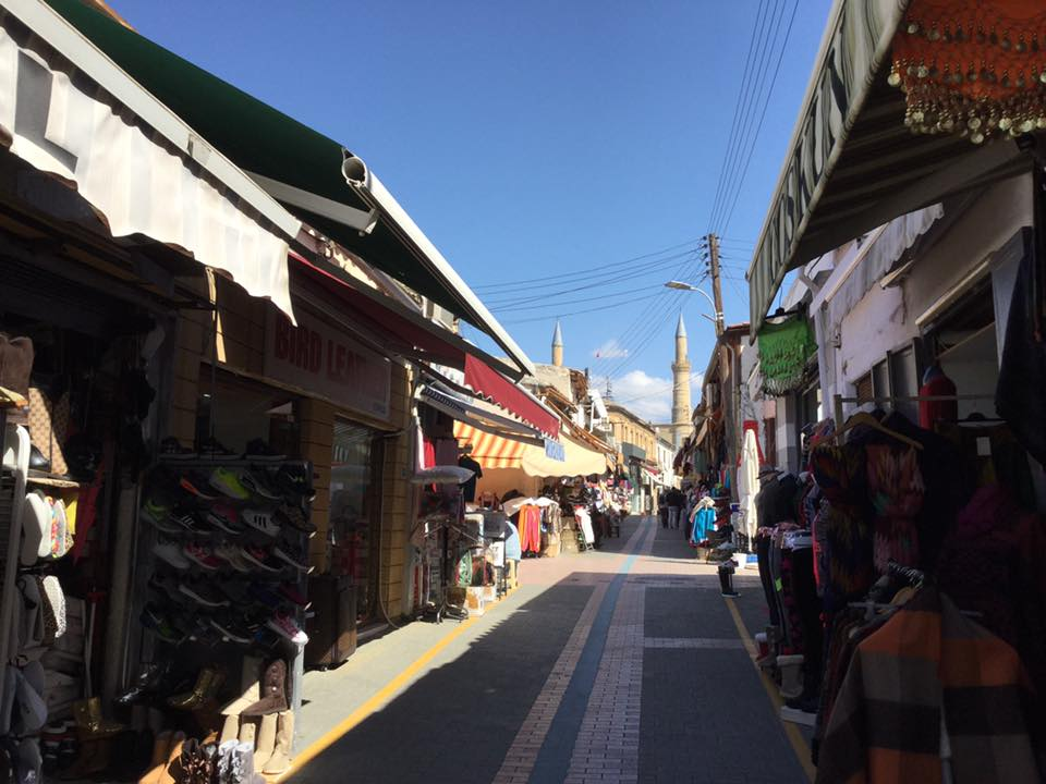 ニコシアのグリーンライン検問所情報(キプロス・北キプロス国境)