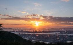 夕日も夜景も!倉敷・鷲羽山スカイライン水島展望台はどちらも楽しめる贅沢なスポット!